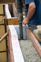 Come costruire con blocchi di polistirolo riempito di calcestruzzo