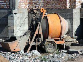 Come progettare una lastra di cemento su Grado