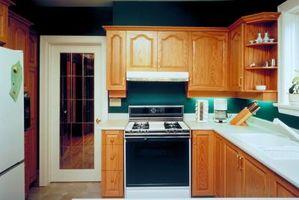 Come regolare la temperatura del forno in una stufa a gas da cucina