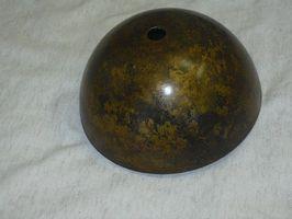 Come patina finitura ottone antico sull'acciaio