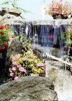 Come pulire un giardino di pietra fontana