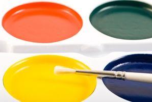 Come Mix vernice da una ruota colori