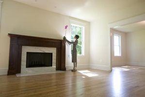 Come dipingere la piastrella di ceramica Around My Fireplace