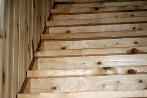 Come riparare gradini di legno