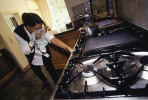 Perdite di gas metano nella Casa