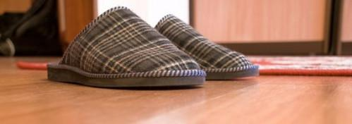 Come lavare Memory Foam pantofole