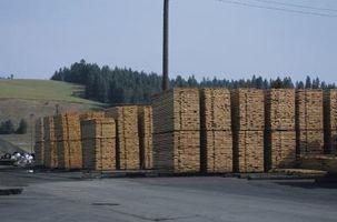 Come usare trattata legname fuori