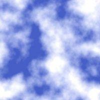 Come dipingere nuvole con una spugna