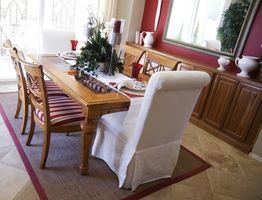 Come progettare un tavolo da pranzo