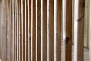 Come fare perno di legno pareti diritte