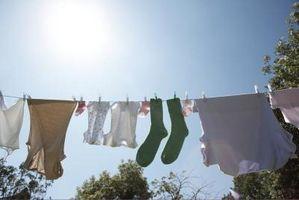 Vs. essiccazione clothesline asciugatrice