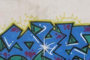 Come trattare con graffiti