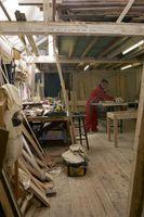 Come costruire una paratia di legno Cantina