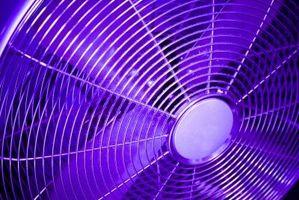 Come utilizzare ventilatori a ventilare una stanza
