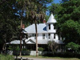 Colori tradizionali Porticato soffitto nelle case vittoriane