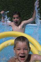 Il tasso medio di un tubo da giardino per riempire una piscina