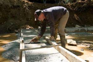 Come versare cemento con rete metallica