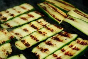 Si può crescere Zucchini in cesti appesi?