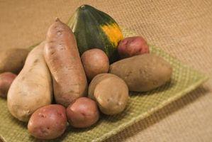 Segni e sintomi di patate Scab