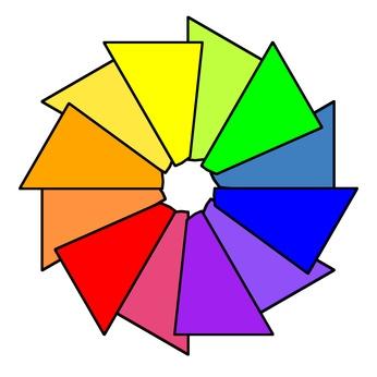 Come decorare con una ruota colori interattiva