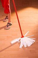 Come pulire foglio di vinile Pavimento