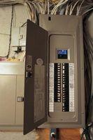Come nascondere una scatola del pannello elettrico su un muro di Sala