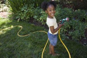 Posso utilizzare un tubo da giardino per l'acqua potabile?