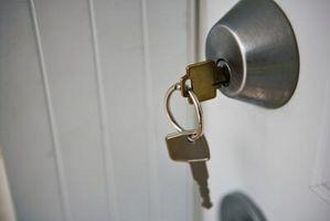 Come fare una prova chiave catenaccio di blocco Bump