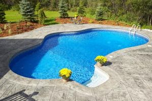 Idee per calcestruzzo intorno alla piscina
