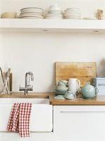 Come asciugare i piatti e non lascia Lint