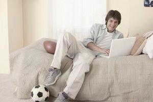 Come decorare la stanza di un ragazzo adolescente in un tema di sport