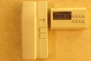 Rotonda Pompa di calore termostato Cablaggio