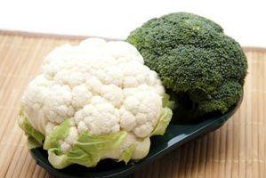 Possono Broccoli e cavolfiori sopravvivere temperature di congelamento in un giardino?