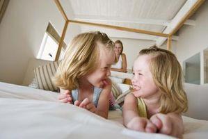 Idee di decorazione per camere da letto per due gemelle