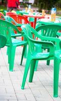 Come pulire sedie di plastica all'aperto