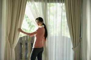 Doppia Istruzioni per l'installazione Bastone per tende