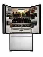 Il mio frigorifero perde con grasso Sotto