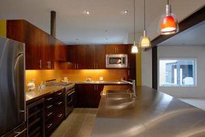 Idee per ritocchi la cucina intradossi con gli indicatori luminosi