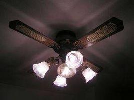 Come faccio ventilatori a soffitto funzionano?