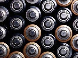 Come utilizzare una batteria Tester analogico