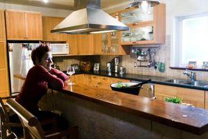 Come costruire una barra alta in una cucina
