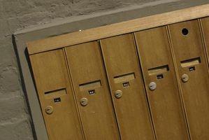 Come sostituire un appartamento o di blocco delle cassette postali Condo