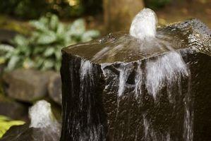 Come Ricircolare una fontana di roccia