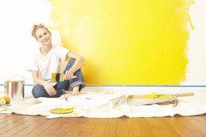 Come dipingere Trim con vernice a base di olio