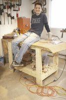 Come fare un banco di lavoro con i piedini 4x4