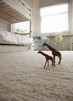 Come rimuovere macchie di ruggine dal Un tappeto con perossido