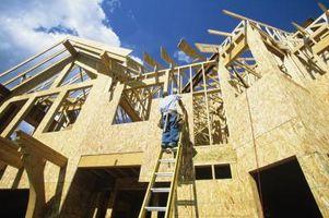 Casa Costruzione Con Schiuma Barriera al posto del legno