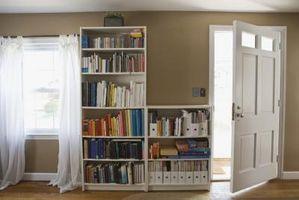 Come costruire un fisso scaffale libreria