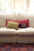 Come decorare un divano letto con divano letto Cuscini