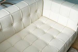 C'è un fai-da-te in pelle Colorante per un divano bianco?